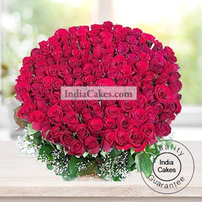 150 RED ROSES BUNCH