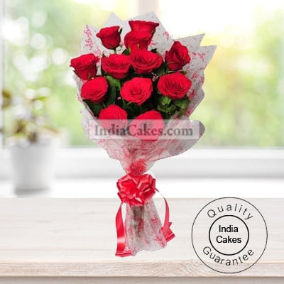15 RED ROSES BUNCH