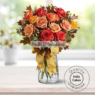 20 MIXED ROSES BUNCH