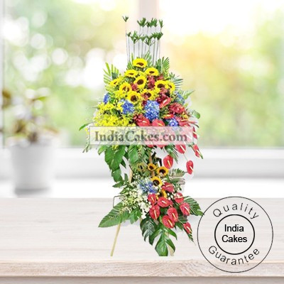 3-4 FEET ARRANGEMENT OF MIX FLOWERS