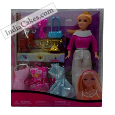Betty Accessories Doll