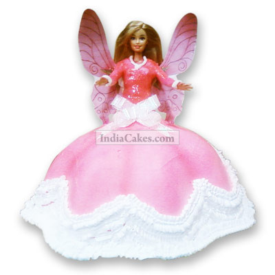 3 Kg Angel Doll Cake Pune