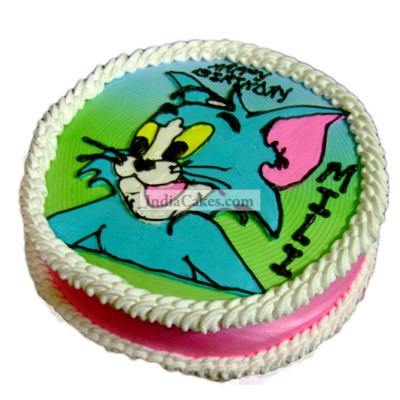 2 Kg Tom And Jerry Cake