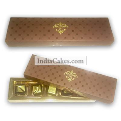 5 Pcs Assorted Chocolate Box