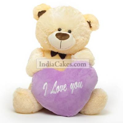 Order 6 inches i love you teddy bear today indiacakes voltagebd Gallery