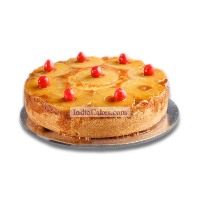1 Kg Pineapple Mousse Cake