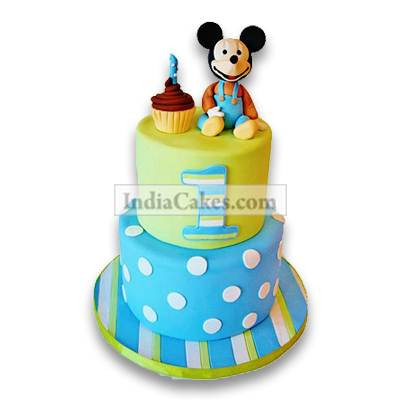 3.5 Kg Cute Cartoon Cake