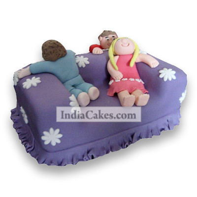 2.5 Kg Luxury Couch Cake
