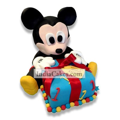 3.5 Kg Micky Mouse Gift Cake