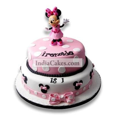 3.5 Kg Minnie Mouse Birthday Cake