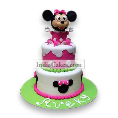 4 Kg Minnie Mouse Cake