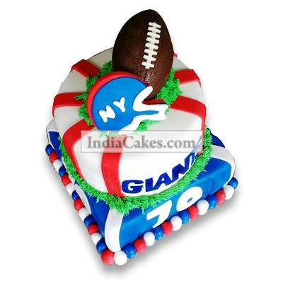 4 Kg Rugby Cake