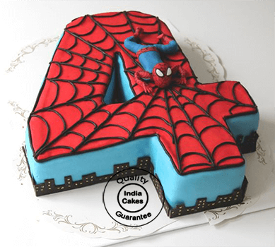 Spiderman Birthday Cake_1