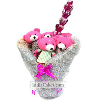 Teddy Bouquet 5