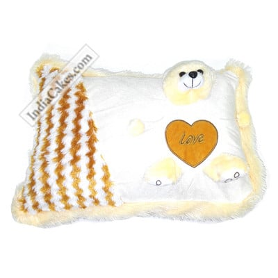 40 cm White Cushion