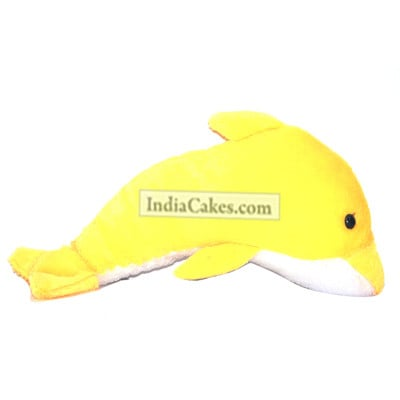 Yellow Dolphin Softtoys