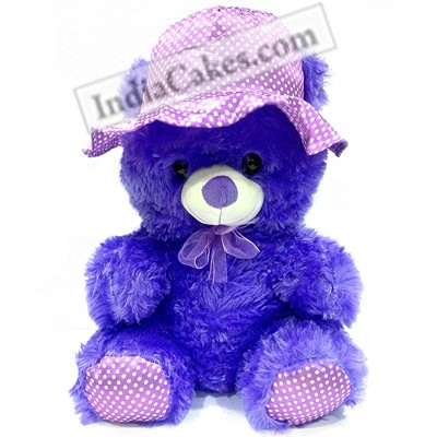 40 cm blue color teddy bear couriered altavistaventures Image collections