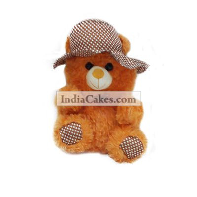 30 cm Orange Color Teddy Bear