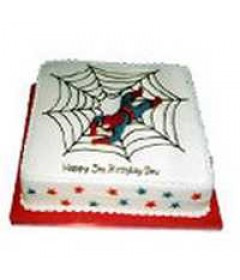 3 Kg Eggless Spiderman Cake
