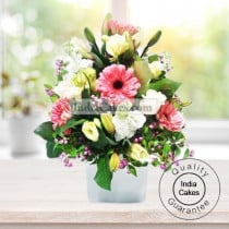 ARRANGEMENT OF MIX FLOWERS