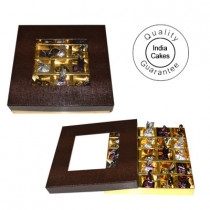 25 Pcs Brown Color Chocolate Box