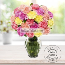 30 MIX CARNATIONS BUNCH