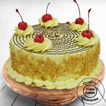 Affable Butterscotch Cake Half Kg