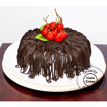 Half Kg Amazing Black Forest Cake