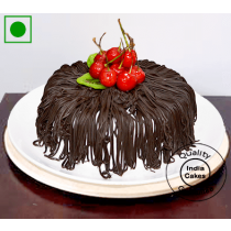 Eggless Half Kg Amazing Black Forest Cake