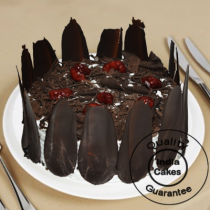 Eggless German Black Forest Half Kg