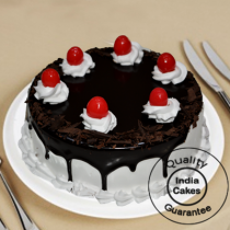 Eggless Black Forest Chocolate Gel Half Kg
