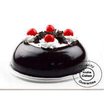 Eggless Black Forest Dome Half Kg