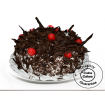 Eggless Black Forest Amazon Half Kg