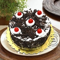 Eggless Black Forest Cake Half Kg