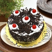 Eggless Black Forest Cake 1 Kg
