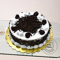Eggless Black Forest Five Star Quality Cake 1 Kg