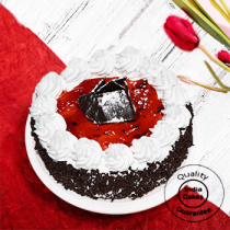 Half Kg Cherry Black Forest Cake