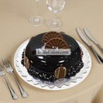 Chocolate Cake 1 Kg Dome Shaped