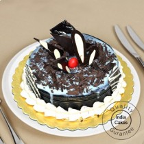 1 Kg Eggless Chocolate Forest Cake