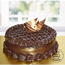 Eggless Chocolate Truffle Torte