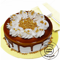 Delicious Butterscotch Cake Half Kg