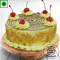 Eggless Affable Butterscotch Cake Half Kg