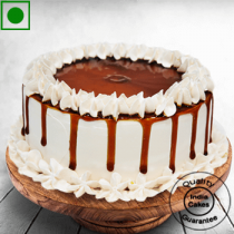 Eggless Special Butterscotch Cake Half Kg