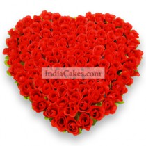 100 Heart Roses Bond Of Love