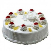 Eggless Pineapple Five Star Quality Cake 1 Kg