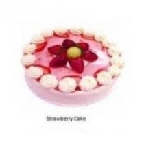 Eggless Strawberry Five Star Quality Cake 1 Kg