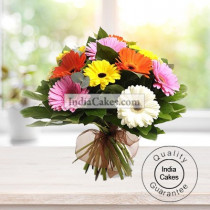 12 MIX GERBERAS BUNCH