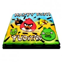 3 Kg Angry Birds Cake
