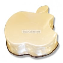 Fondant Apple Logo Cake Two Kilogram