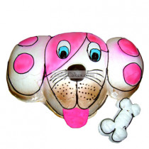 Fondant Doggy Face Cake Two Kilogram
